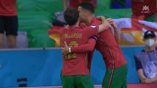 1 - 0 : Cristiano Ronaldo ouvre le score (15')