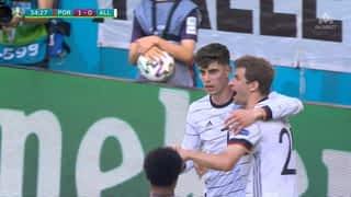 1 - 1 : L'Allemagne égalise (35')