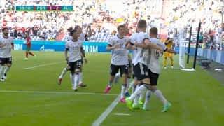 1 - 2 : L'Allemagne prend l'avantage (39')