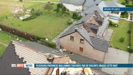 RTL INFO 13H : Une mini-tornade s'est abattue sur Beauraing