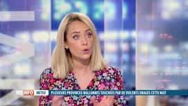 RTL INFO 13H : Emilie Dupuis fait le point sur les prévisions météo