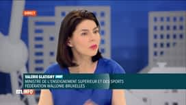 RTL INFO 13H : Valérie Glatigny est l'invitée de Pascal Vrebos après ce RTLInfo 13H