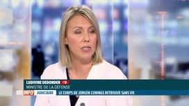RTL INFO 19H : Décès de Jürgen Conings: le point en direct avec Ludivine Dedonder