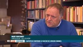 RTL INFO 19H : Décès de Jürgen Conings: retour à la vie normale pour Mark Van Ranst