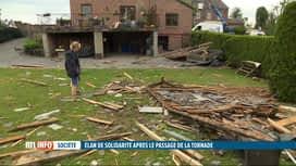 RTL INFO 19H : Intempéries: la solidarité s'est mise en place à Beauraing et à Roc...