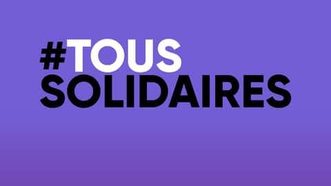 #toussolidaires en replay