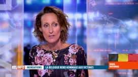 RTL INFO 13H : Deuil national suite aux inondations: retour sur le discours du Roi