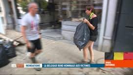 RTL INFO 19H : Deuil national suite aux inondations: réactions critiques de Vervié...