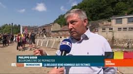 RTL INFO 19H : Inondations: les habitants de Pepinster attendent des explications