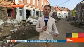 RTL INFO 19H : Inondations: nouveaux récits dramatiques provenant de Pepinster