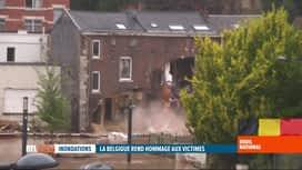 RTL INFO 19H : Inondations: certains Pepins s'en sont sortis de toute justesse