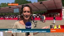 RTL INFO 13H : Fête nationale: défilé militaire en mode mineur cet après-midi