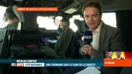 RTL INFO 13H : Fête nationale: les nouveaux Airbus A400M survoleront la Place des ...