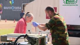 RTL INFO 13H : Inondations: les sinistrés poursuivent le nettoyage à Chaudfontaine