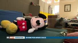 RTL INFO 13H : Inondations: des jeunes en difficulté évacués vers une maison de repos