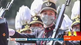 RTL INFO 19H : Fête nationale: deux princesses ont attiré l'attention lors du défilé