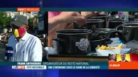 """RTL INFO 19H : Fête nationale : le """"Resto national"""" a été maintenu à Bruxelles"""