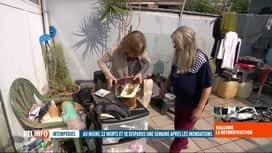 RTL INFO 13H : Inondations: la fatigue physique et morale s'installe chez les sini...