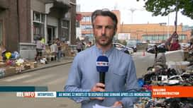 RTL INFO 13H : Inondations: Samuel Ledoux est à Chênée où l'élan de solidarité se ...