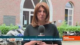 RTL INFO 13H : Inondations: le point avec la bourgmestre de Verviers Muriel Targnion