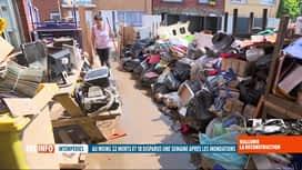 RTL INFO 13H : Inondations: les bénévoles s'activent aussi dans les écoles