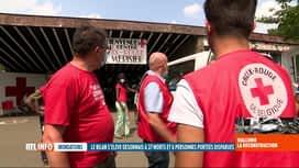 RTL INFO 19H : Inondations: la Croix-Rouge va distribuer des repas aux sinistrés...