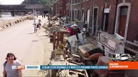RTL INFO 19H : Inondations: l'élan de solidarité ne faiblit pas au sein de la popu...