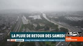 RTL INFO 19H : On annonce le retour de la pluie et de zones orageuses pour ce week...
