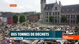 RTL INFO 19H : Inondations: découvrez les images du jour !