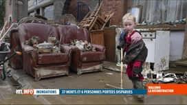 RTL INFO 13H : Inondations: une famille de Marche se mobilise pour les sinistrés d...