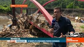 RTL INFO 13H : Inondations: la Vesdre doit être nettoyée des tonnes d'arbres et de...
