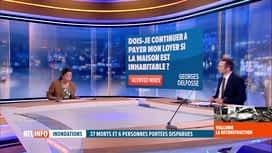RTL INFO 13H : Inondations: Halima Moane Sahli répond aux questions des internautes