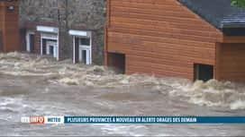 RTL INFO 19H : Inondations: les sinistrés de la vallée de la Vesdre exigent des ré...