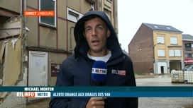 RTL INFO 13H : Nouvelles intempéries: Michael Menten est à Limbourg, qui a évacué ...