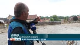 RTL INFO 13H : Nouvelles intempéries: la commune de Limbourg évacue une partie de ...