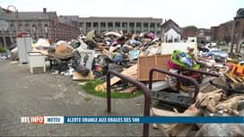 RTL INFO 13H : Nouvelles intempéries: les habitants de Verviers redoutent le pire