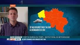 RTL INFO 13H : Nouvelles intempéries: notre prévisionniste David Dehenauw fait le ...