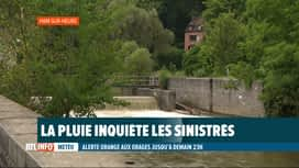 RTL INFO 19H : Nouvelles intempéries: vigilance de mise à Ham-sur-Heure et Gerpinnes