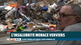 RTL INFO 19H : Inondations: les habitants de Verviers redoutent l'insalubrité et l...