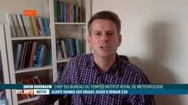 RTL INFO 19H : Nouvelles intempéries: notre prévisionniste David Dehenauw fait le ...