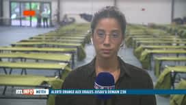RTL INFO 19H : Nouvelles intempéries: Verviers invite ses citoyens à trouver refug...
