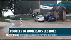 RTL INFO 13H : Inondations: les provinces du Brabant wallon et d'Anvers aussi touc...
