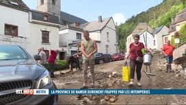 RTL INFO 13H : Inondations: de nombreux villages autour de Dinant et Namur sont to...