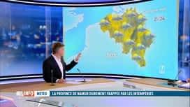 RTL INFO 13H : Inondations: les prévisions météo de Stéphan van Bellinghen