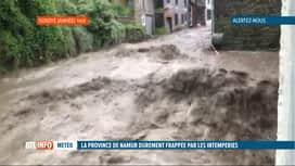 RTL INFO 13H : Inondations: explications sur le phénomène orageux d'hier soir