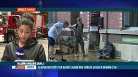 RTL INFO 19H : Inondations: à Namur, les dégâts sont plus importants qu'il y a une...