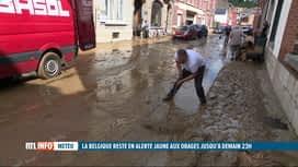 RTL INFO 19H : Inondations: surpris hier, les Namurois se veulent à présenti philo...
