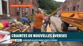 RTL INFO 13H : Inondations: poursuite du nettoyage, du tri et du déblaiement à Dinant