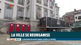 RTL INFO 13H : Inondations: des services installés à Verviers pour aider les sinis...