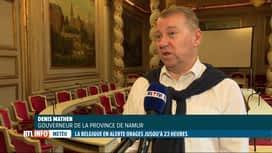 RTL INFO 13H : Inondations: tous les camps sous tentes interdits en province de Namur